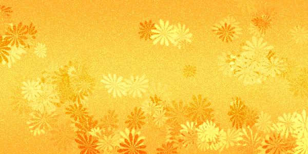 華やかなイメージの金屏風