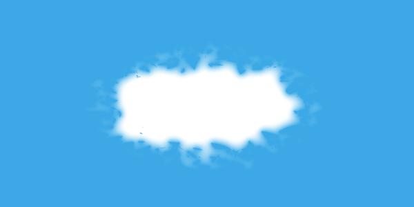 リアルな雲の完成
