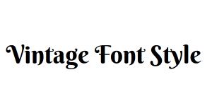 Webフォントを表示する