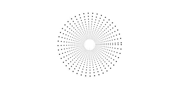 点線で作った花火