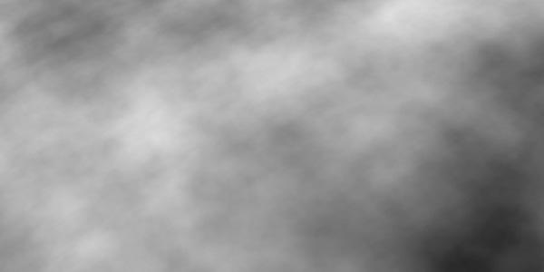 カンバスに雲模様を描画する