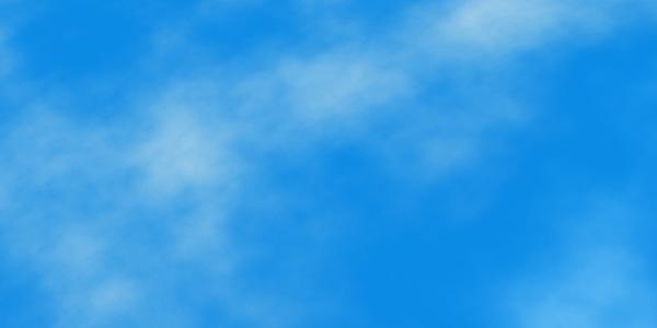 グラデーションマップで青空を作る