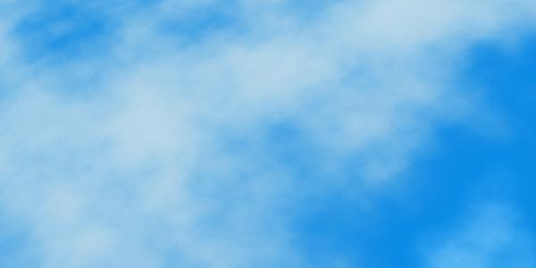 空がかすんだ感じの効果を出す