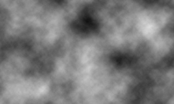 新規レイヤーに「雲模様1」を適用