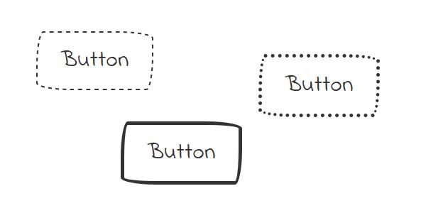 CSSで手描き風ボタンをデザイン